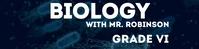 Biology Google Classroom Banner template
