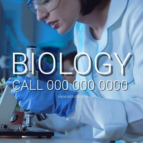 BIOLOGY MEDICAL MEDIC SCIENCE Template