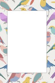 Bird Party Prop Frame