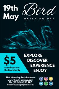 Bird Watching Day Poster