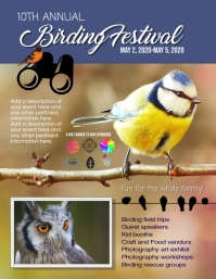 Birding Festival Bird Watching Flyer