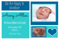 Birth Annoucement