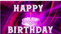 birthday and anniversary Miniature YouTube template