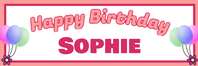 birthday girl banner template postermywall
