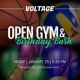 Birthday Bash & Open Gym