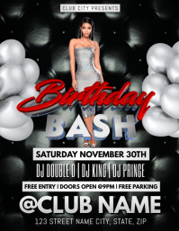 BIRTHDAY BASH CLUB FLYER TEMPLATE