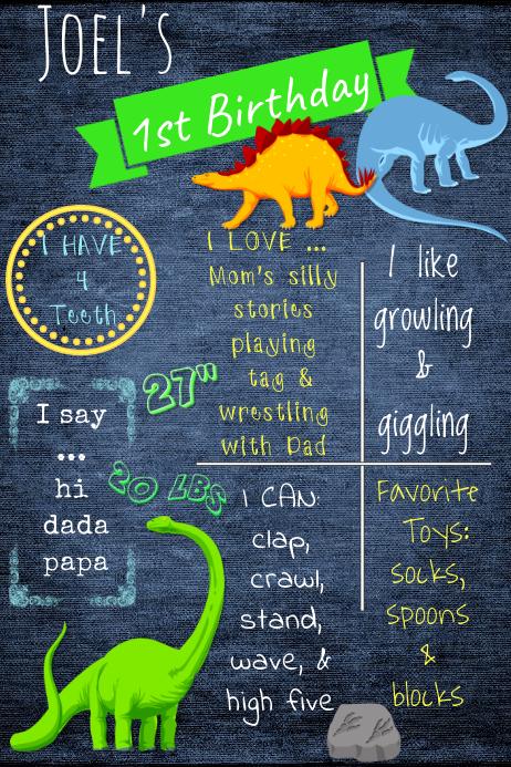 Birthday Boy Brag Poster