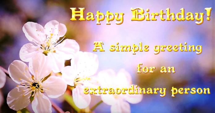 Birthday card Imagen Compartida en Facebook template