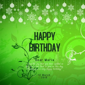 birthday card template,small business flyer