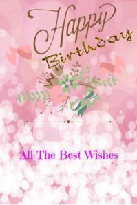 Birthday Card Template