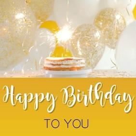 birthday card video