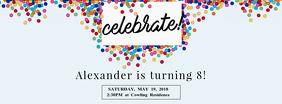 Birthday Celebration Facebook Cover Template