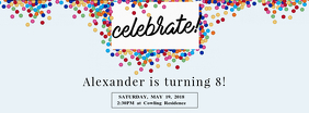 Birthday Celebration Facebook Cover Template