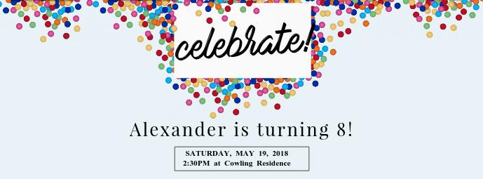 Birthday Celebration Facebook Cover 131campusmatercom