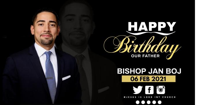 birthday Gambar Bersama Facebook template