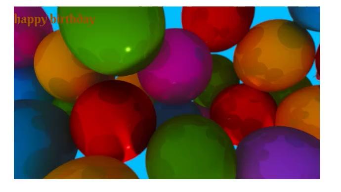 birthday Фотография обложки канала YouTube template