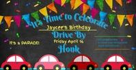 Birthday Capa para evento do Facebook template