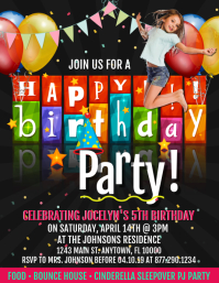 Customize 3,990+ Birthday Poster Templates | PosterMyWall
