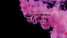 Birthday Facebook Cover Template