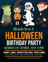 birthday flyer, birthday party