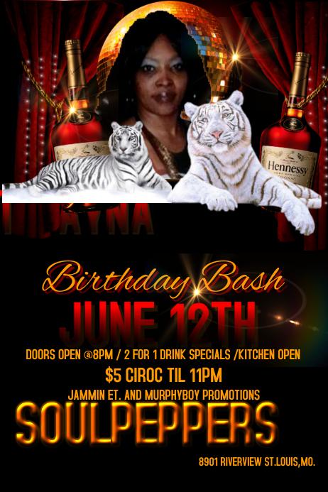 birthday flyer template thevillas co