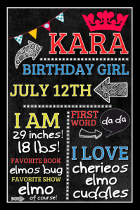 Birthday Flyers Template | Create Beautiful Birthday Invitations Easily Postermywall
