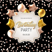 Birthday flyers,party flyers,event flyers
