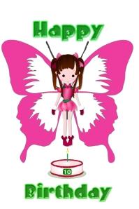 birthday/girl/cumpleanos/party/children/cake