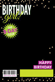 Birthday Girl Flyer