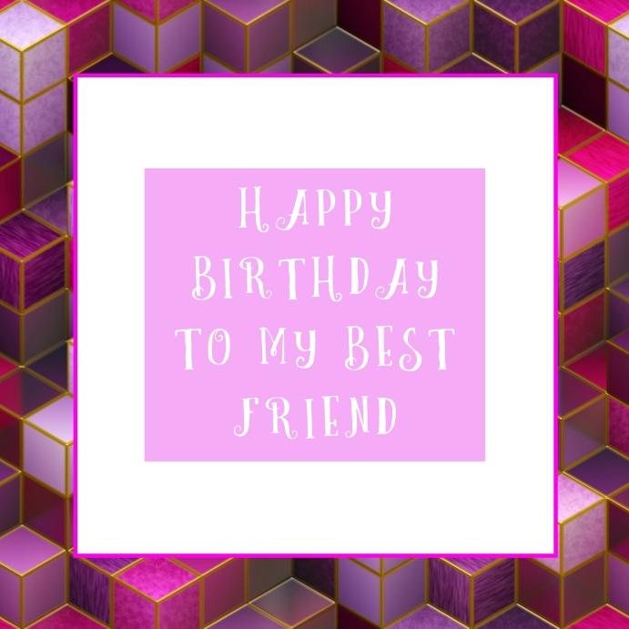 Birthday Instagram Template
