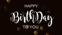 Birthday invitation, happy birthday Blog Header template