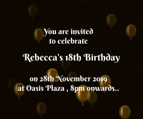Birthday Invitation