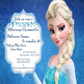 birthday invitation photo