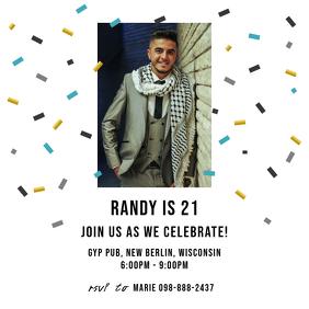 Birthday Invitation Instagram Template
