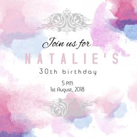 Birthday invite 2