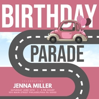 birthday parade template
