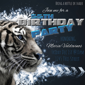 27 680 customizable design templates for birthday party template