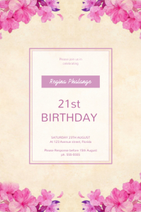 16 780 Customizable Design Templates For Birthday Party Postermywall