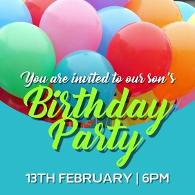 7,850+ Birthday Invitation Customizable Design Templates | PosterMyWall