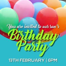 Birthday Party invite