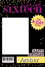 Birthday Party Prop Frame