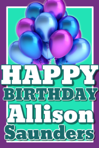 Birthday Poster Flyer