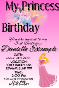 Customizable Design Templates for Kids Birthday Party | PosterMyWall