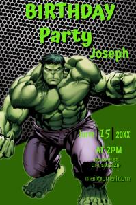 Hulk Birthday