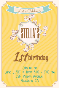 Customizable Design Templates for Birthday Invitation | PosterMyWall