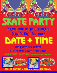 Birthday Skate Party