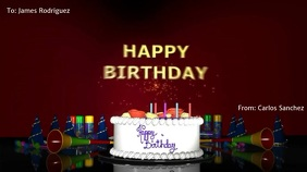 BIRTHDAY VIDEO CARD
