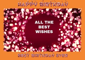12770 Customizable Design Templates For Birthday Wishes Video
