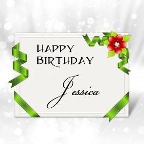 Birthday video card
