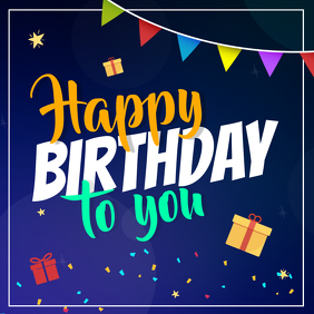 Create Free Birthday Wish Images In Minutes Postermywall